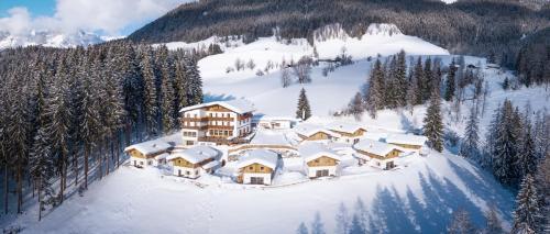 Das Eulersberg Apartments & Chalets בחורף