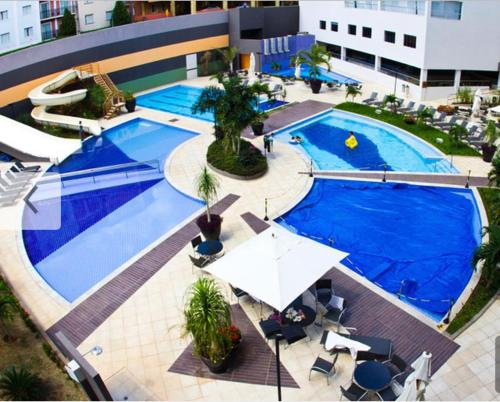 A view of the pool at Hotel Veredas do Rio-quente/ Particular or nearby