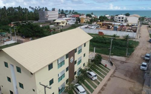A bird's-eye view of Flats Vieiras do Maragogi