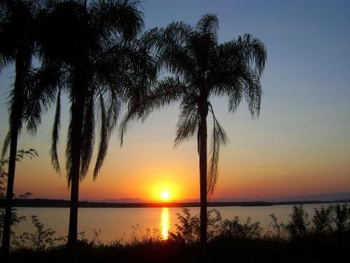 Sunrise o sunset na nakikita mula sa holiday home o sa malapit