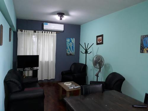 Un lugar para sentarse en Departamento en Ciudad Mendoza