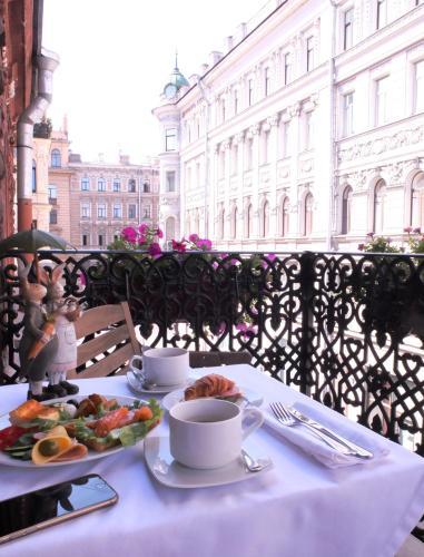 Завтрак для гостей Галунов Отель