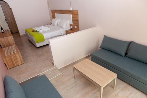 Filerimos Villageにあるベッド