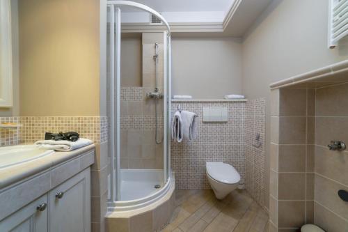 Ванная комната в Apartamenty Portowe