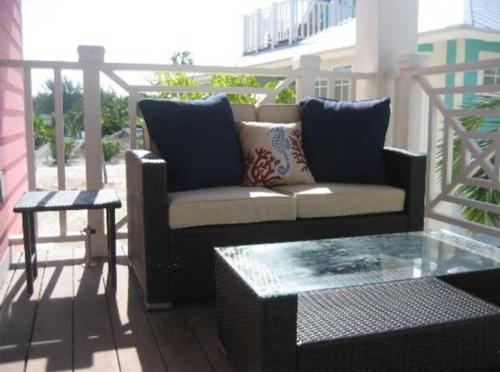 A seating area at Chub Cay Resort & Marina - Villa 18