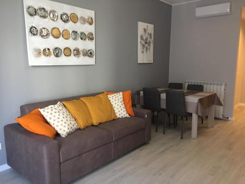 A seating area at De Angeli Luxury Flat