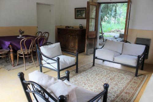 Zona de estar de Casa Familiar Pisco Elqui