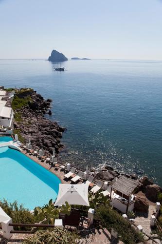 Vista aerea di Hotel Cincotta