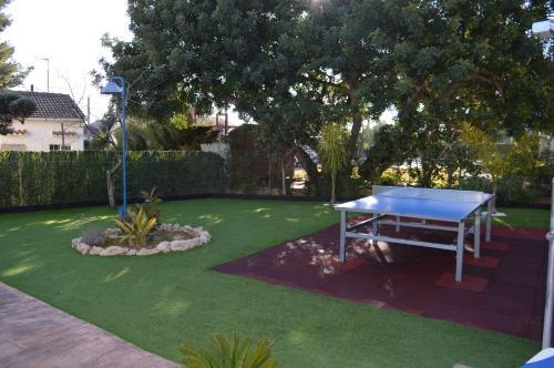 Jardín al aire libre en Villa Lagem