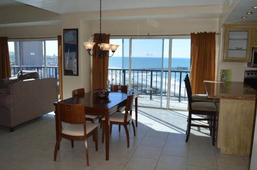 Dining area at the condo hotel