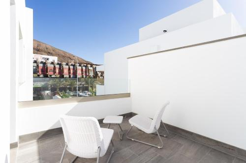 A balcony or terrace at Portofino Resort