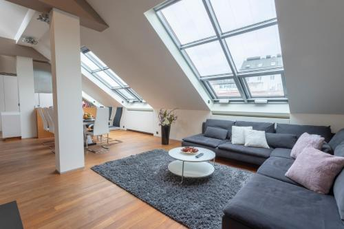A seating area at LUXURY CENTRAL DUPLEX WITH TERRACE