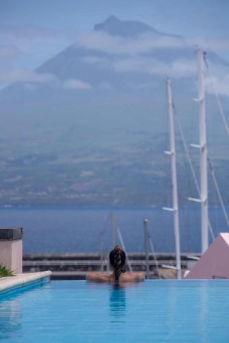Piscine de l'établissement Azoris Faial Garden – Resort Hotel ou située à proximité