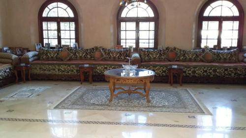 A seating area at VILLA RYM