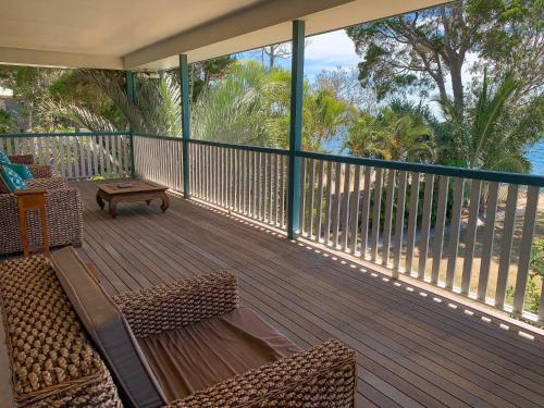 A balcony or terrace at Cooks Hideaway