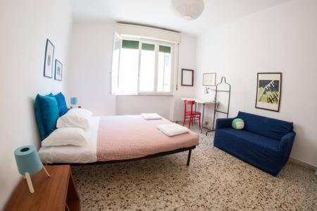 Letto o letti in una camera di Turquoise House