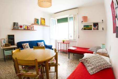 Area soggiorno di Turquoise House