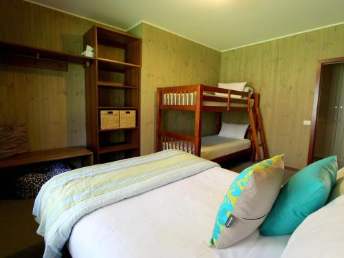 A bunk bed or bunk beds in a room at Gumtree Spring