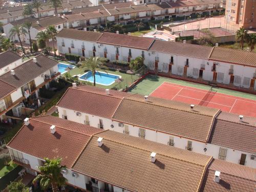 Een luchtfoto van Rinconada Real - Zand Properties