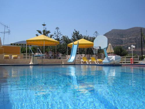 The swimming pool at or near Amazones Villas Apartments