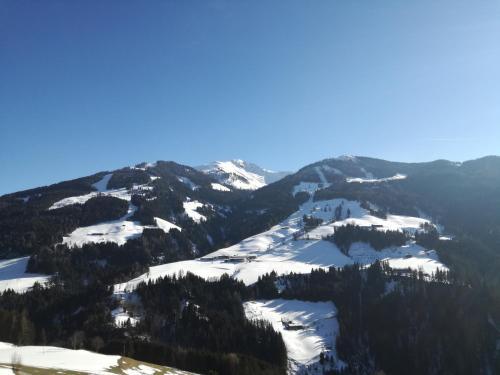 Alpbachblick im Winter