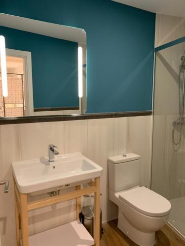 Een badkamer bij Behap Sevilla Centro Histórico