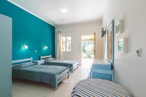 Letto o letti in una camera di Panorama Apartments