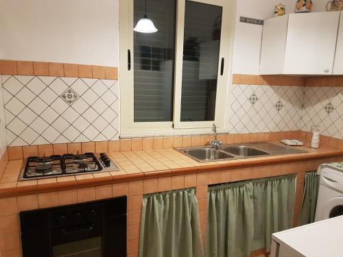 A kitchen or kitchenette at Punta Grande - Scala dei Turchi