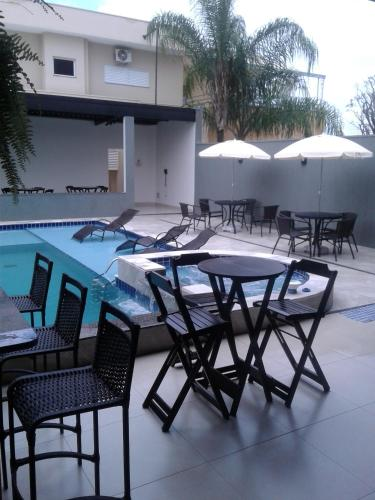 The swimming pool at or near Revitalle Hotel