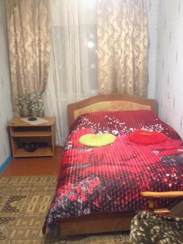 Кровать или кровати в номере Южно-Моравская ул., 46 Апартаменты