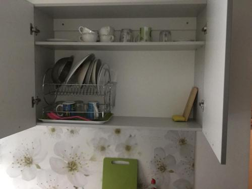 A kitchen or kitchenette at Odra 10/1-3