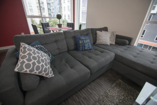 Ein Sitzbereich in der Unterkunft Downtown Oasis in DTLA