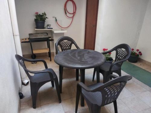 A seating area at Casa Castillo de la Estrella