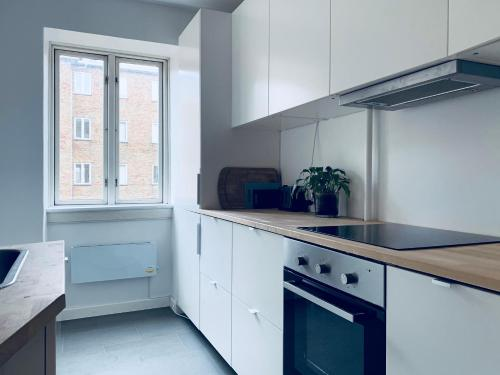 A kitchen or kitchenette at Caprivej - Best Stay Copenhagen
