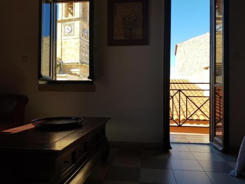 A kitchen or kitchenette at Vranas Ambiance Hotel