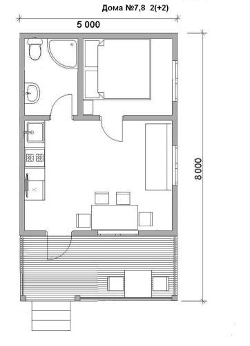 Планировка Гостевой дом Белые Росы