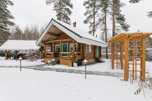 Koru Cottage ziemā