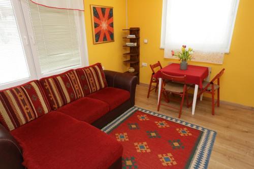 Część wypoczynkowa w obiekcie Apartments Life & Energy