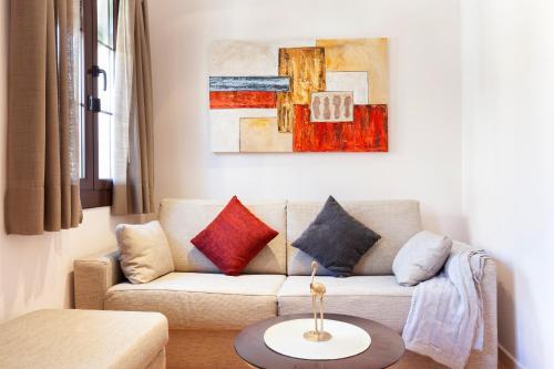 A seating area at Dream Gracia Apartments