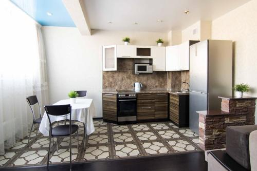 A kitchen or kitchenette at Apartment Sdaem116