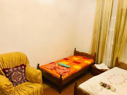 Llit o llits en una habitació de Dovana apartment