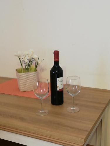 Drinks at Vila Johanka