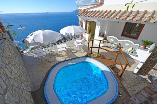 The swimming pool at or near La sorgente del sole