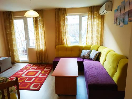 A seating area at CITY STAY in Varna