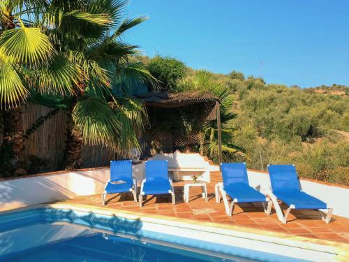 Der Swimmingpool an oder in der Nähe von Casa Milagrosa