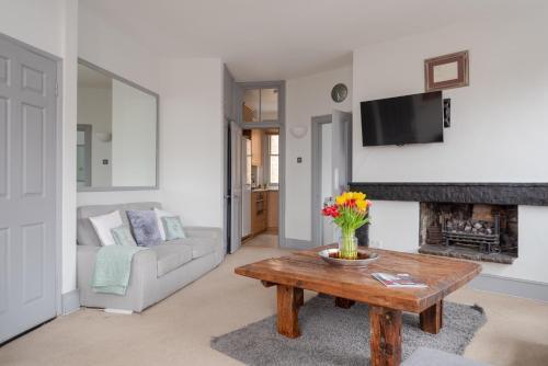 Istumisnurk majutusasutuses The View Apartment, Hampstead