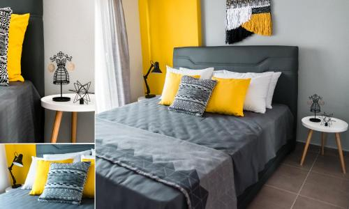 A bed or beds in a room at Sea Breeze Experience 2019