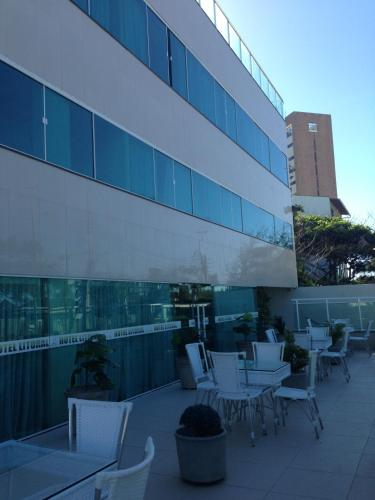 A restaurant or other place to eat at Hotel Litoral Fortaleza