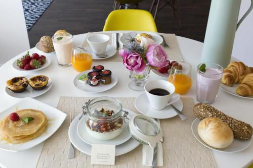 Breakfast options available to guests at Ceuta 44