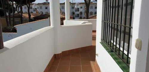 Un balcón o terraza de Apartamentos Costa Chiclana